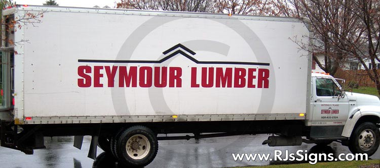 vehicle sign lettering