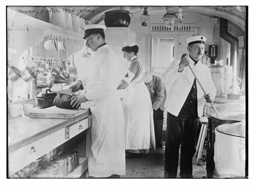 Kaiserin's Hospital Train -- kitchen  (LOC)