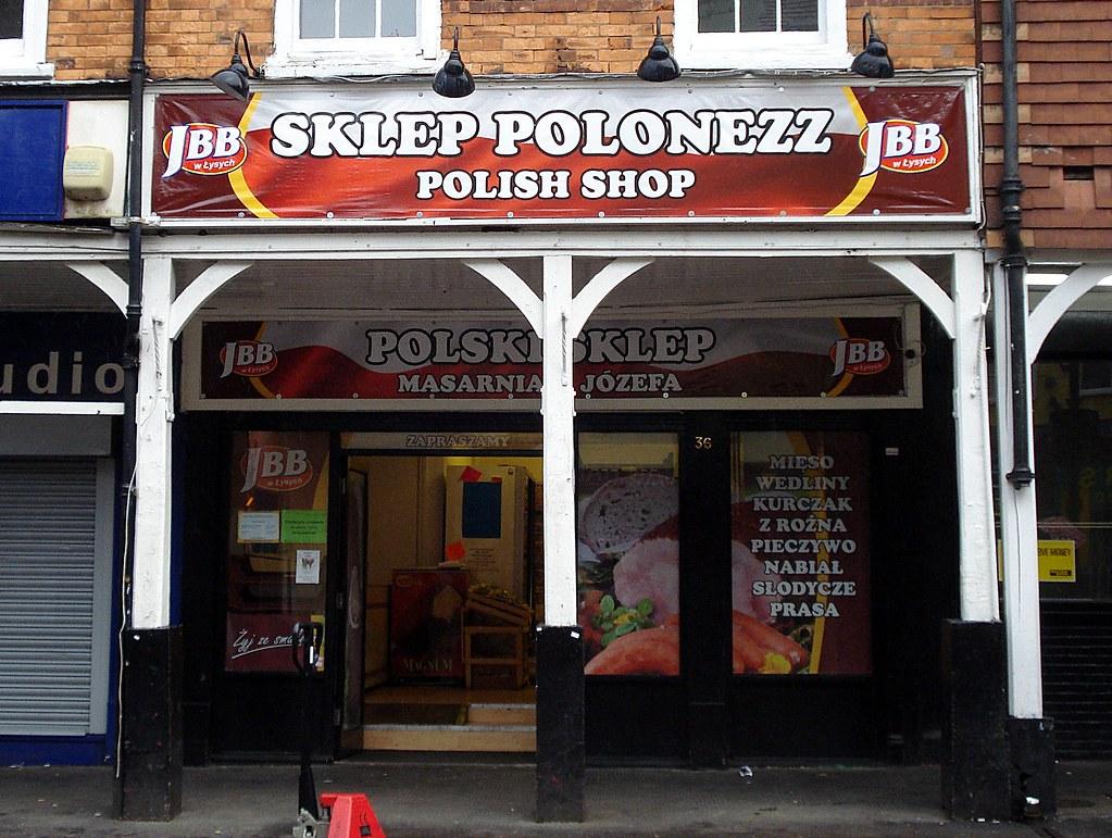 Sklep Polonezz/Polski Sklep/Polish Shop, Croydon, London CR0
