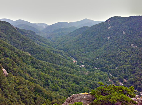 hickory nut gorge by DigiDreamGrafix.com