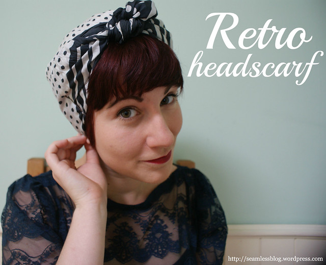 rosie the riveter hair style how to tie a retro headscarf flickr photo 2061