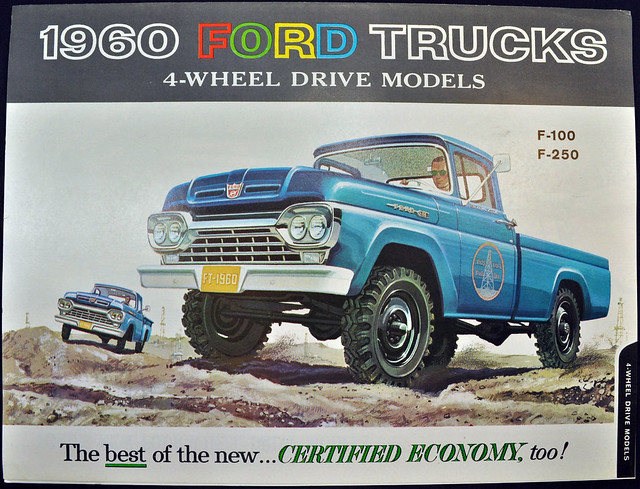 1960 Ford Trucks Brochure - 4-wheel drive models
