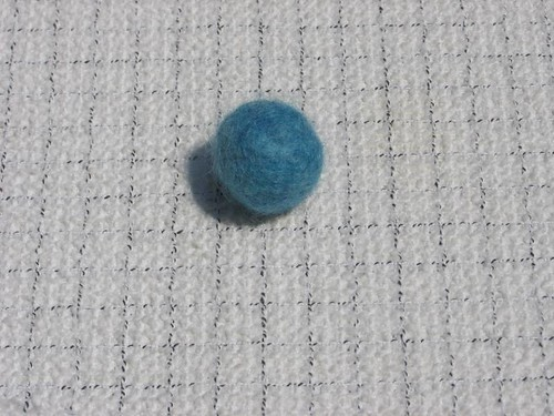 F-f-felted ball