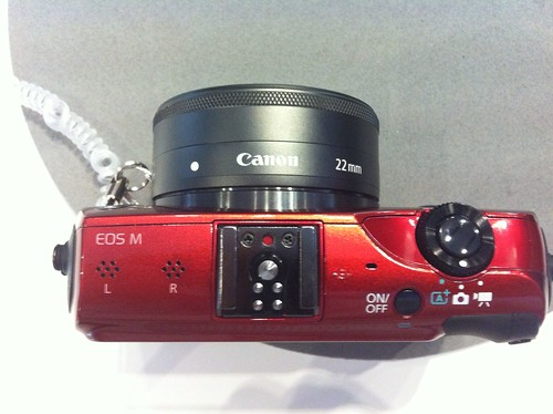 EOS M Top view