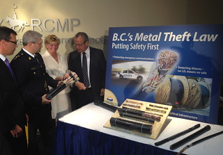 Metal theft regulations expected to reduce crime