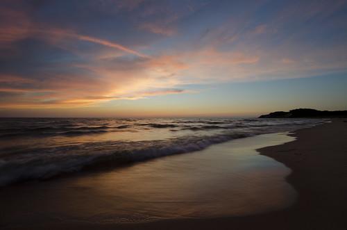 sunset beach lakemichigan montague muskegon nikond5100