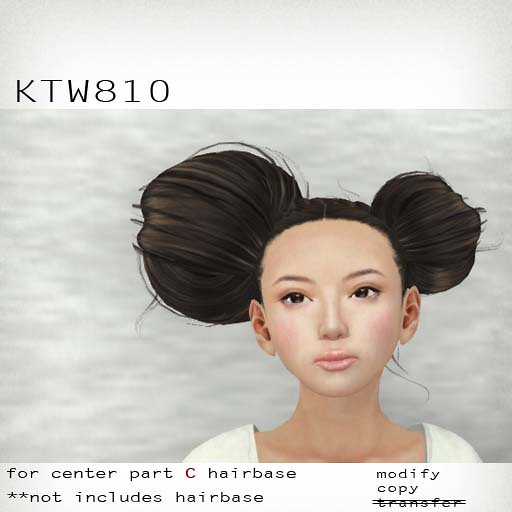 booN KTW810 hair