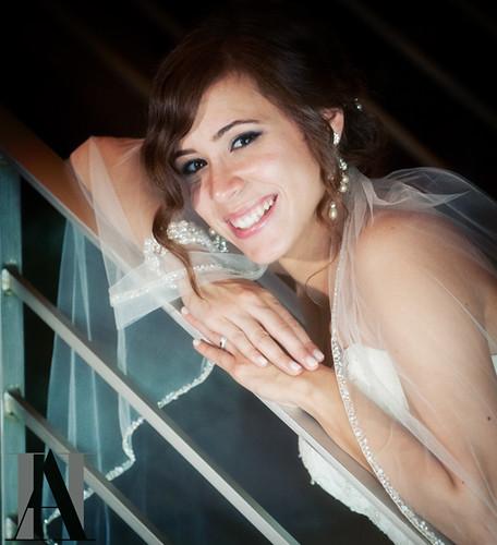 Bride: Vanessa's Wedding Portrait by Abigail Harenberg