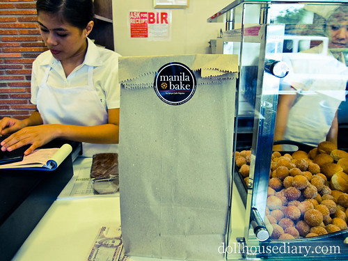 Manila Bake goodies for takeout