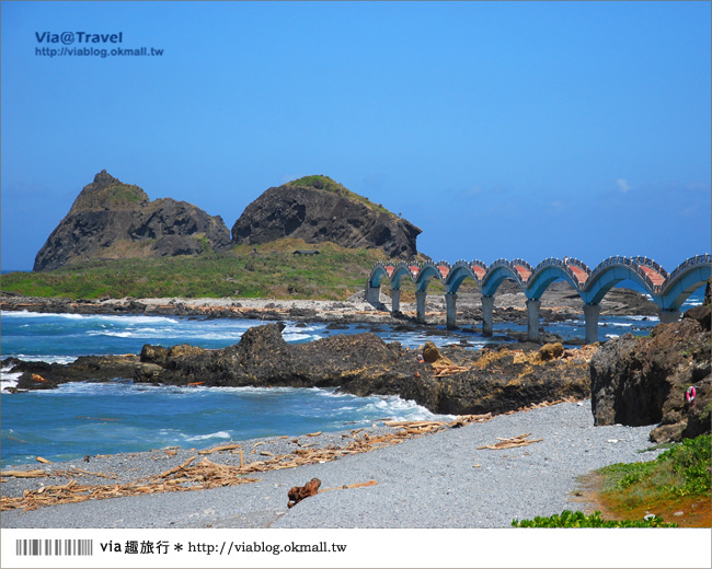 【台東必去景點】台東三仙台~我心目中台灣最美的一座橋啊!4