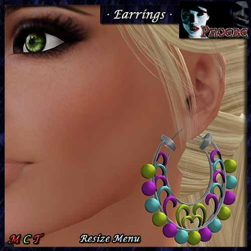 *P* Sherezade Earrings ~Summer~