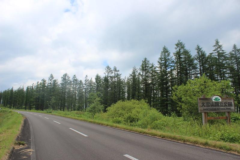 ナイタイ高原のレストハウスへ向かう道 その2