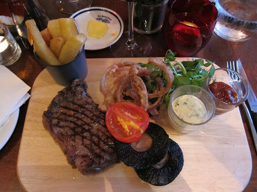 The Spread Eagle - steak and chips