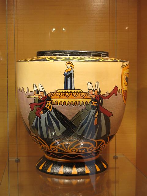 décor de procession, Jim E Sévellec  Musée de la faïence, Quimper
