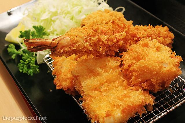 Seafood Katsu Set 1