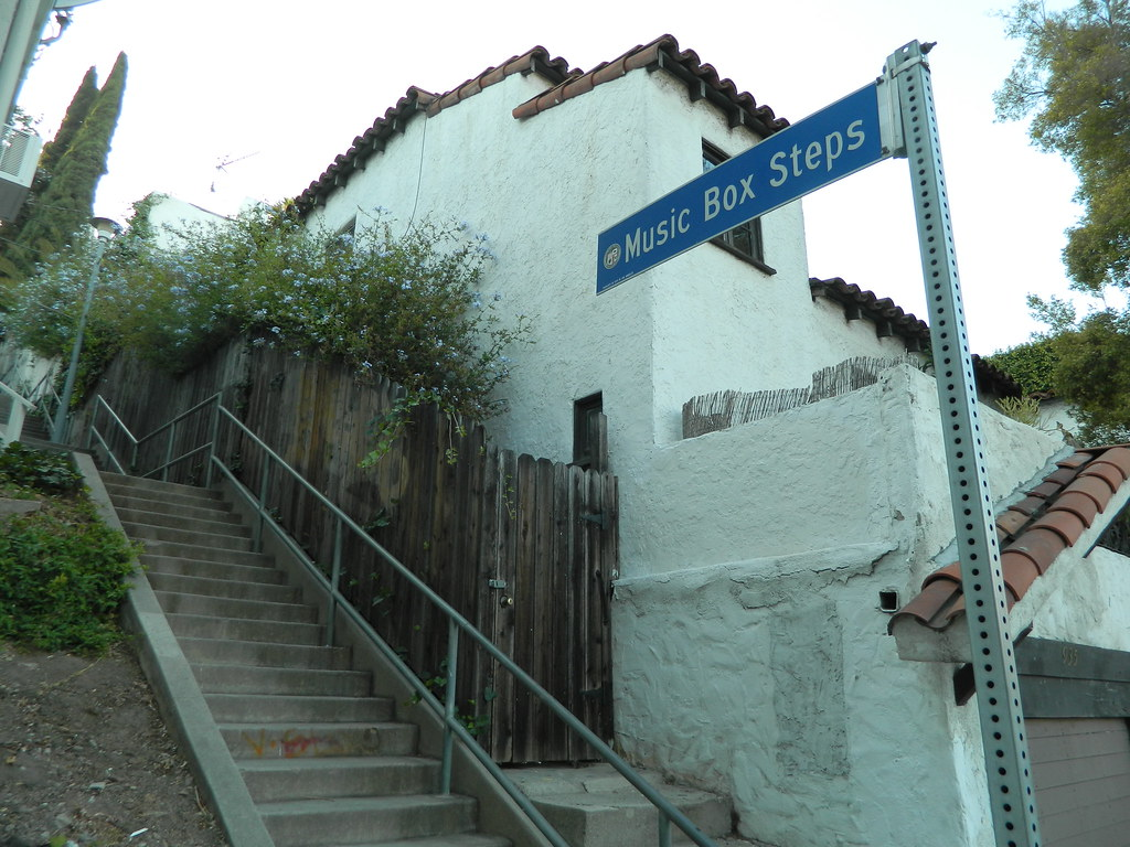 Music Box Steps Los Angeles Music Box Steps From The