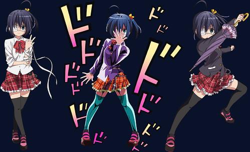 120807(2) - 輕小說改編電視動畫版《中二病でも恋がしたい!》發表女主角聲優名單,並且預定10月首播!