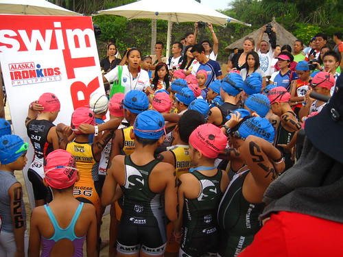 Ironman 70.3 Philippines: Ironkids briefing