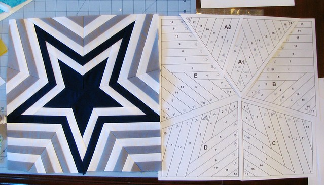 Dallas Cowboys Quilt Star