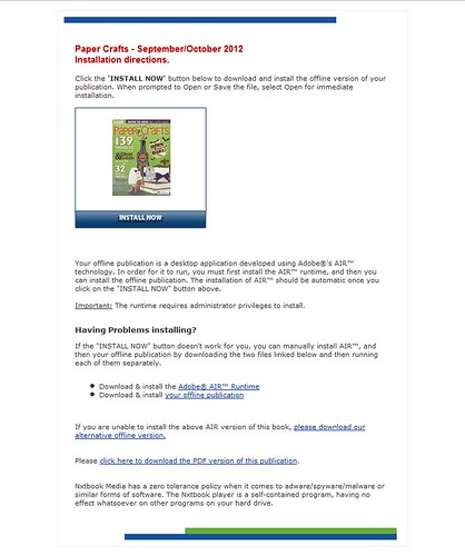 7742969410 f31ebc9d85 Paper Crafts digital issues   MORE tips and tricks