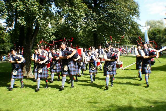 Glen Mor Pipe Band, Glasgow Green