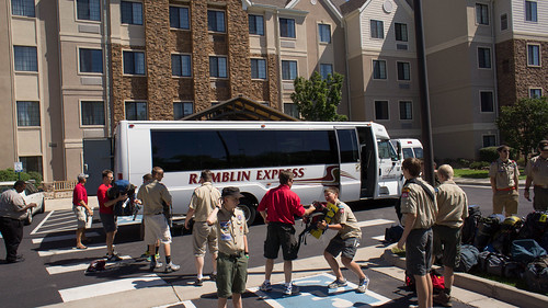 Arriving at Staybridge Suites in Cherry Creek