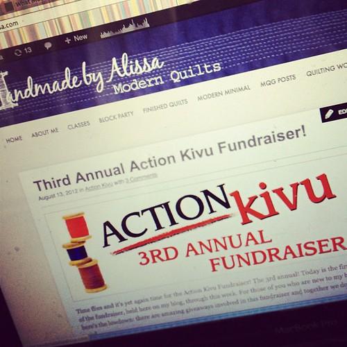 What I am doing all week... Please give! handmadebyalissa.com/action-kivu-3