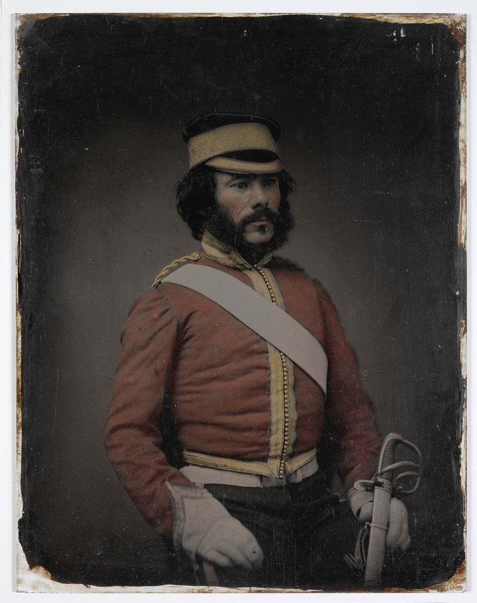 Possibly Professor George Parker, 1857-1858 / photographer  Thomas Glaister [attributed]