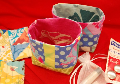 fabric buckets of a sort