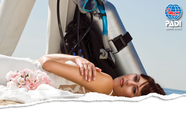 PADI Discover SCUBA Diving and weddings!