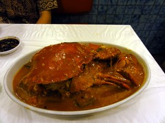 Kepiting Saus Padang (Crab with Spicy Padang Sauce)