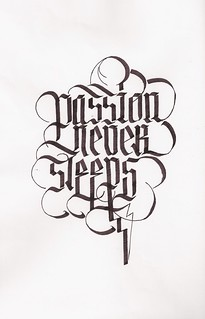 Passion never sleeps