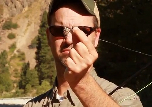 Video hank patterson on taking your spouse fishing for Hank patterson fly fishing