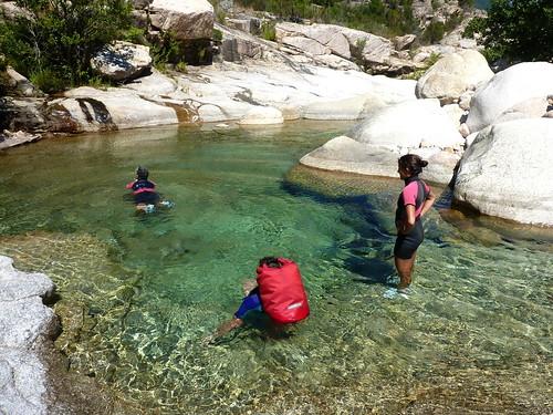 Vasque du ruisseau de Sainte-Lucie