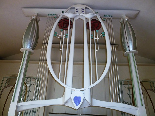 Mackintosh Design at house for an Art Lover
