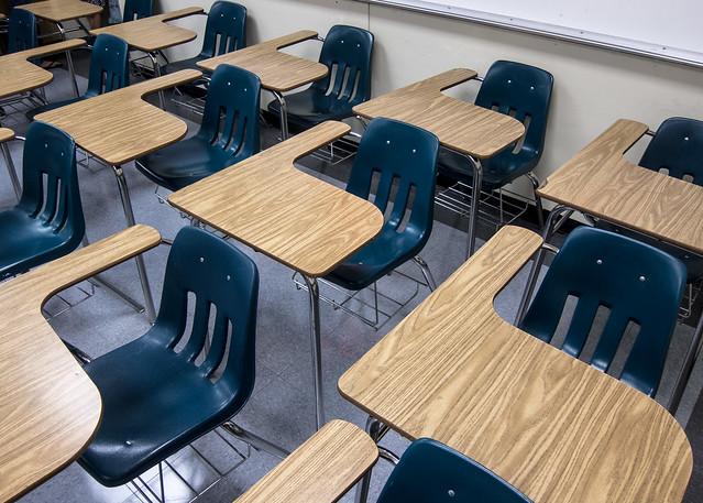 Classroom desks - Flickr CC Robert Couse-Baker