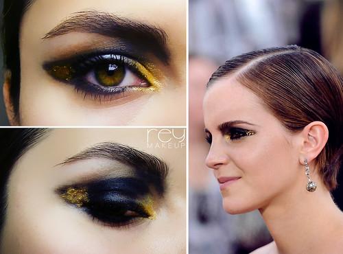Emma Watson NY premiere look.