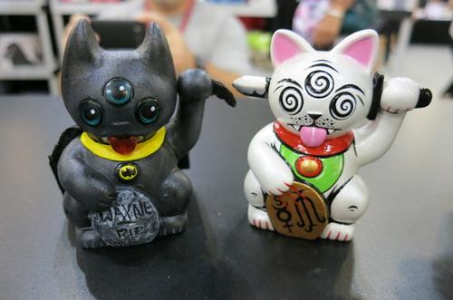 Mini-Misfortune Cat Customs at DesignerCon 2012 8152586106_2a41269352