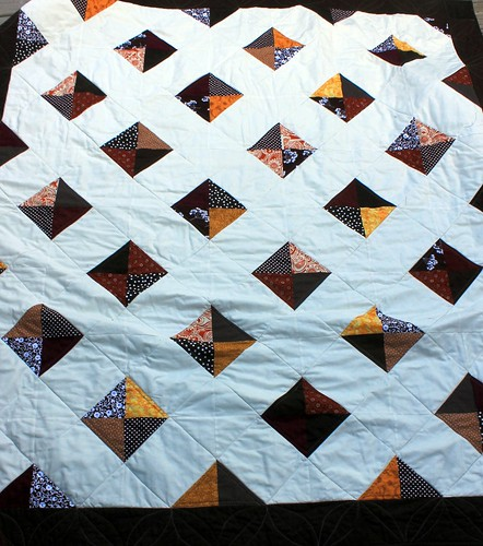 Fall Trellis Wedding Quilt