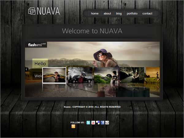 Nuava Free WordPress Theme