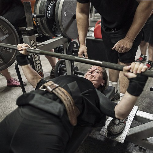 Elitefts Gym Pic of the Day  #bestoftheday #follow #elitefts #strongher #stronger #benchpress #instamood #photooftheday #gympic #fun #picoftheday #amazing #photo #instadaily #iphonesia #instagood #pretty #best #followme #iphoneonly #life #stronger #love #