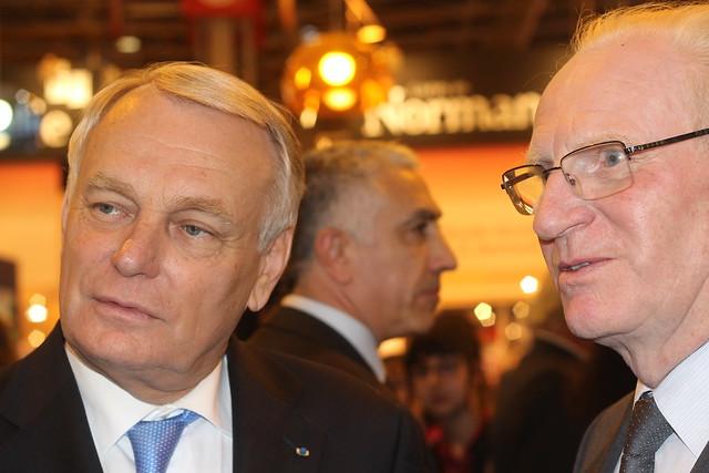 Jean-Marc Ayrault et Alain Kouck