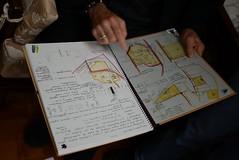 赫斯特手繪台灣各地溼地黑面琵鷺的棲地(圖片來源:中華鳥會)