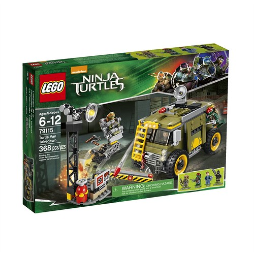 LEGO Teenage Mutant Ninja Turtles Turtle Van Takedown (79115)