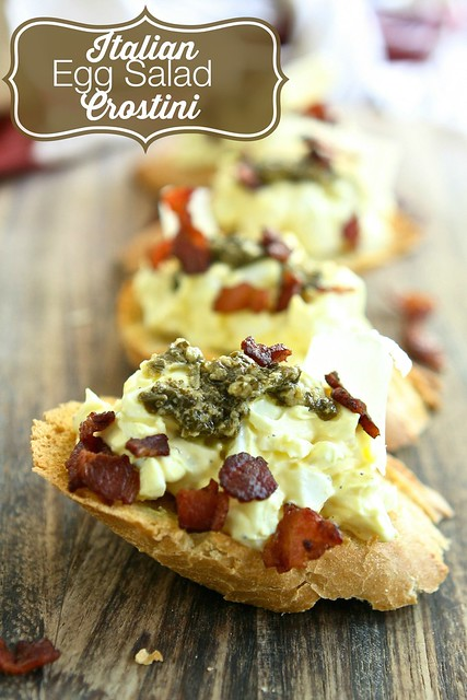 Italian Egg Salad Crostini 002