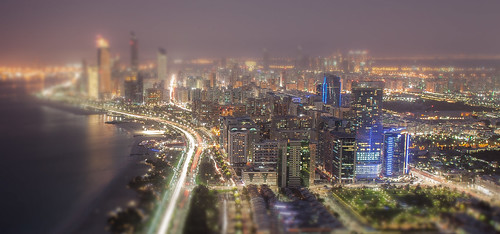 Abu Dhabi Tilt Shift