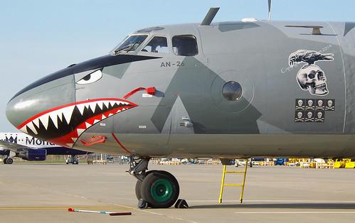Aircraft (AN26) silhouette