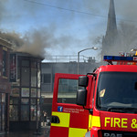 Another fire at Sandos in Preston - 4
