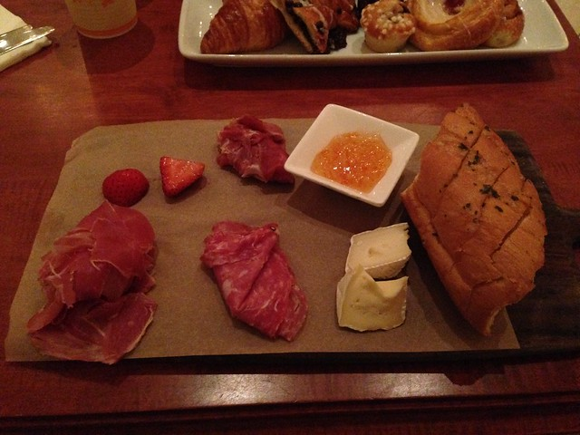 Charcuterie at Beauty and the Beast Restaurant, Magic Kingdom, WDW