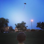 Windy nights call for kites. by bartlewife